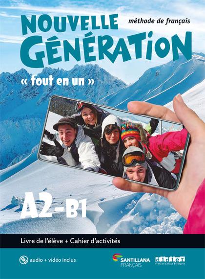 NOUVELLE GENERATION A2/B1 LIVRE/EXERCICES+CD+DVD