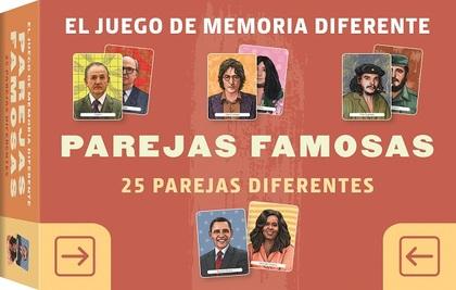 JUEGO DE MEMORIA DIFERENTE PAREJAS FAMOSAS                                      25 PAREJAS DIFE
