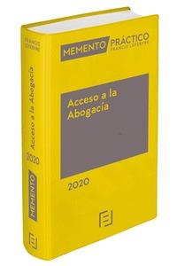 MEMENTO ACCESO A LA ABOGACÍA 2020.