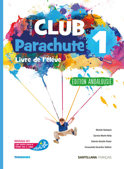 CLUB PARACHUTE 1 PACK ELEVE ANDALUCIA.