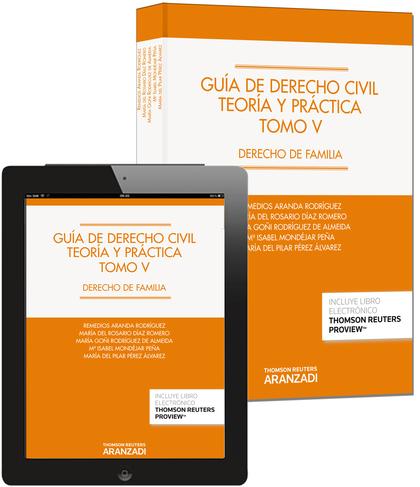 GUÍA DE DERECHO CIVIL V : TEORÍA Y PRÁCTICA : DERECHO DE FAMILIA