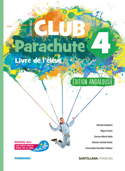 CLUB PARACHUTE 4 PACK ELEVE ANDALUCIA.