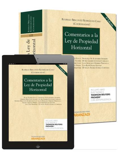 COMENTARIOS A LA LEY DE PROPIEDAD HORIZONTAL