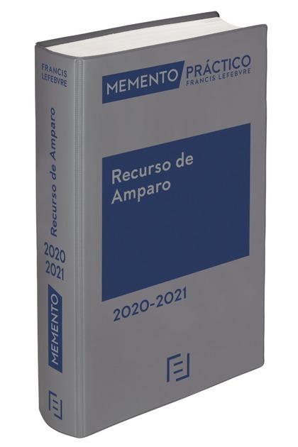 MEMENTO RECURSO DE AMPARO 2020-2021.