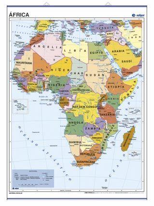 PÓSTER ÁFRICA, POLÍTICO