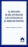 PRINCIPIO DE RELATIVIDAD DE LOS CONTRATOS EN EL DERECHO ESPAÑOL