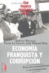 ECONOMIA FRANQUISTA Y CORRUPCION.