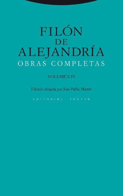 OBRAS COMPLETAS. VOLUMEN IV