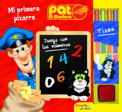 PAT EL CARTERO. MI PRIMERA PIZARRA.
