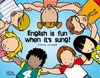 ENGLISH IS FUN WHEN IT´S SUNG. TEACHER AND PARENTS BOOK