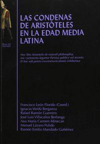 LAS CONDENAS DE ARISTÓTELES EN LA EDAD MEDIA LATINA