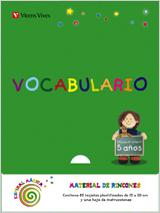 ESPIRAL MÁGICA, VOCABULARIO, 3 EDUCACIÓN INFANTIL, 5-6 AÑOS. MATERIAL RINCONES