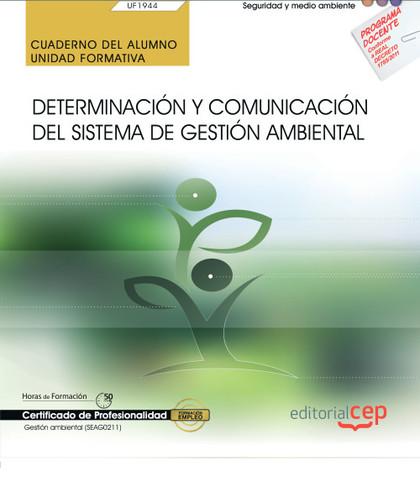 CUADERNO DEL ALUMNO DETERMINACION Y COMUNICACION DEL SISTEM