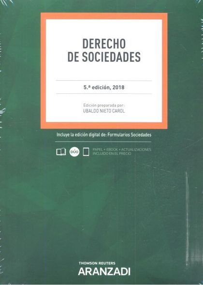 DERECHO DE SOCIEDADES (DÚO).