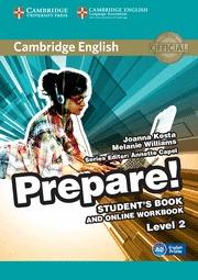 PREPARE! 2 STUDENT´S BOOK WITH ONLINE WORKBOOK