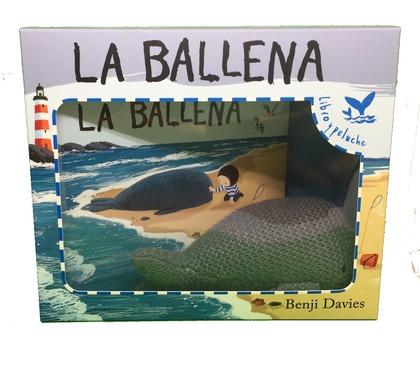 LA BALLENA - LIBRO Y PELUCHE.