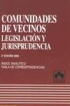 COMUNIDADES DE VECINOS: LEGISLACIÓN Y JURISPRUDENCIA