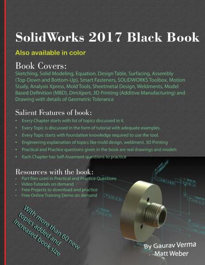 SOLIDWORKS 2017 BLACK BOOK.