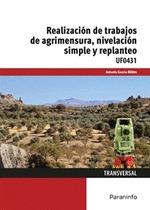 REALIZACIÓN DE TRABAJOS DE AGRIMENSURA, NIVELACIÓN SIMPLE Y REPLANTEO.