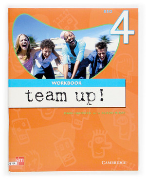 TEAM UP! 4 ESO. WORKBOOK.