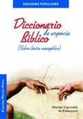 DICCIONARIO BÍBLICO DE URGENCIA
