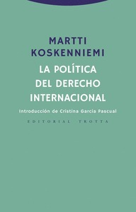 LA POLÍTICA DEL DERECHO INTERNACIONAL.
