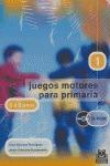 JUEGOS MOTORES, PRIMARIA, 1 CICLO, 6-8 AÑOS