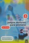 JUEGOS MOTORES, PRIMARIA, 3 CICLO, 10-12 AÑOS