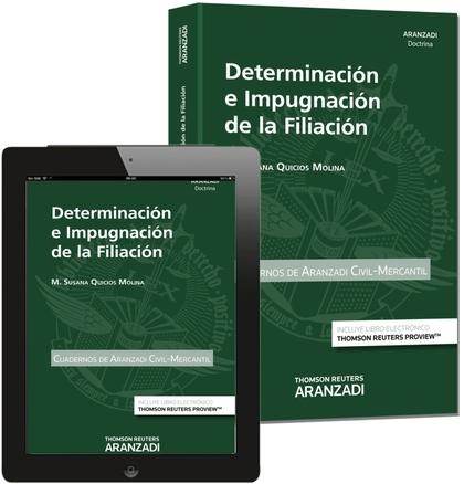 DETERMINACIÓN E IMPUGNACIÓN DE LA FILIACIÓN (PAPEL+E-BOOK)