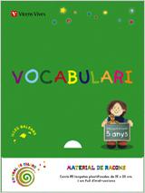 ESPIRAL COLORS, VOCABULARI, 3 EDUCACIÓ INFANTIL (BALEARES), 5-6 ANYS. MATERIAL RACONS