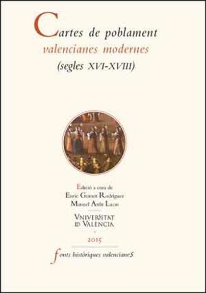 CARTES DE POBLAMENT VALENCIANES MODERNES