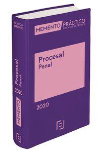 MEMENTO PRÁCTICO PROCESAL PENAL 2020. (PRE-VENTA. PREVISTA PUBLICACIÓN 28 NOVIEM