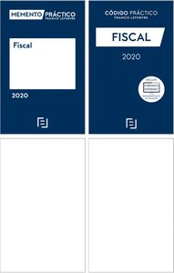 PACK MEMENTO FISCAL 2020 + CÓDIGO FISCAL 2020