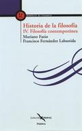 HISTORIA DE LA FILOSOFÍA. IV FIL. CONTEMPORÁNEA.