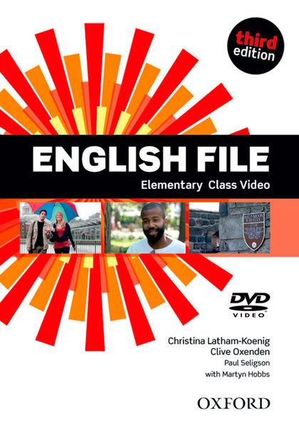 ENGLISH FILE ELEM CLASS DVD 3ED.