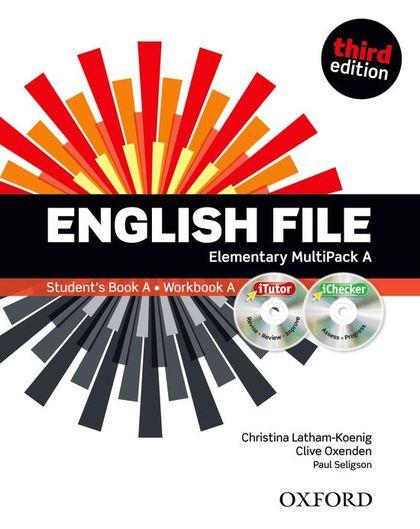 ENGLISH FILE ELEM MULTIPACK A PK 3ED.