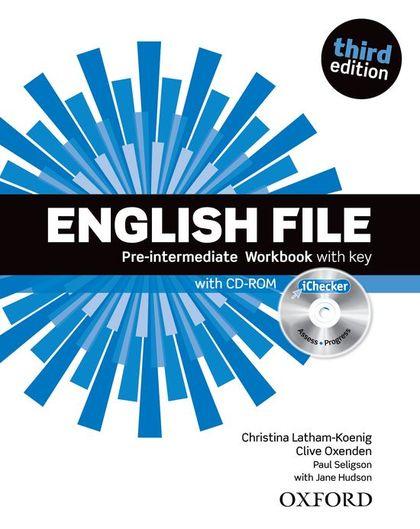 ENGLISH FILE PINT WB W/K PK 3ED.