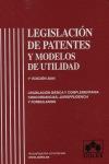 LEGISLACIÓN DE PATENTES Y MODELOS DE UTILIDAD