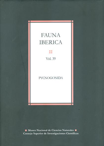 FAUNA IBÉRICA VOL. 39: PYCNOGONIDA.