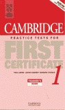 FIRST CERTIFICATE PRACTICE TEST