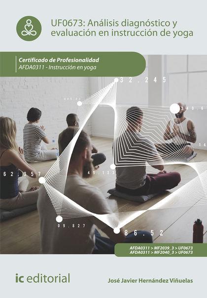 ANÁLISIS DIAGNÓSTICO Y EVALUACIÓN EN INSTRUCCIÓN DE YOGA. AFDA0311 - INSTRUCCIÓN