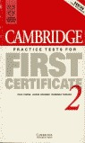 CAMBRIDGE PRACTICE TESTS FIRST CERTIFICATE 2