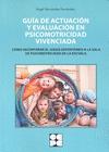 GUIA ACTUACION Y EVALUACION PSICOMOTRICIDAD VIVENCIADA