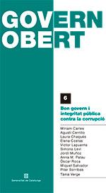 GOVERN OBERT. BON GOVERN I INTEGRITAT PÚBLICA CONTRA LA CORRUPCIÓ.