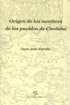 ORIGEN DE LOS NOMBRES DE LOS PUEBLOS DE CÓRDOBA
