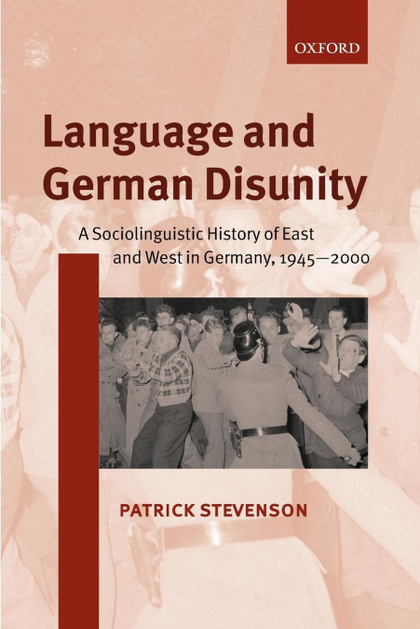 LANGUAGE AND GERMAN DISUNITY