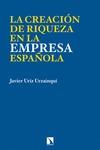 LA CREACIÓN DE RIQUEZA EN LA EMPRESA ESPAÑOLA