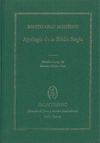 APOLOGIA DE LA BIBLIA REGIA