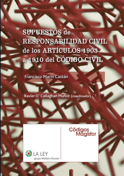 SUPUESTOS DE RESPONSABILIDAD CIVIL DE LOS ARTÍCULOS 1903 A 1910 DEL CÓDIGO CIVIL