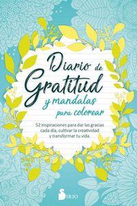 DIARIO DE GRATITUD Y MANDALAS PARA COLOREAR.